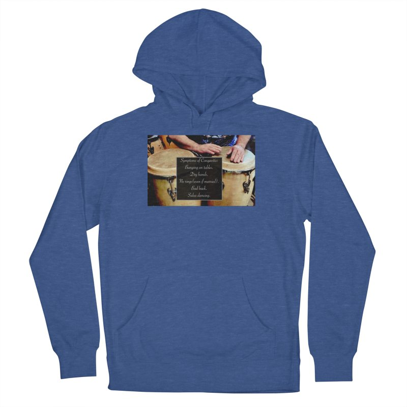 Congavitis Men's French Terry Pullover Hoody by EdHartmanMusic Swag Shop!