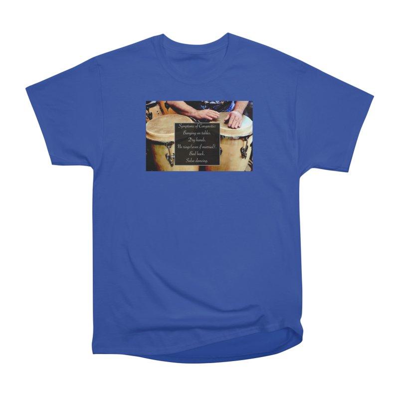 Congavitis Men's Heavyweight T-Shirt by EdHartmanMusic Swag Shop!