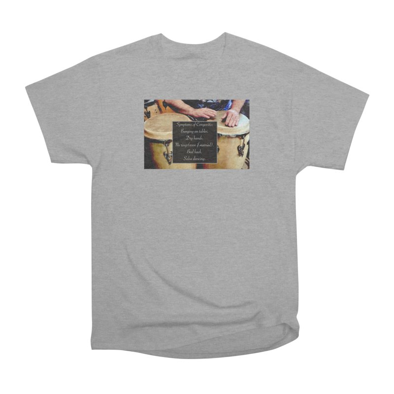 Congavitis Men's Heavyweight T-Shirt by EdHartmanMusic Swag Shop!