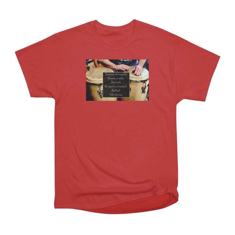 Congavitis Women's Heavyweight Unisex T-Shirt by EdHartmanMusic Swag Shop!