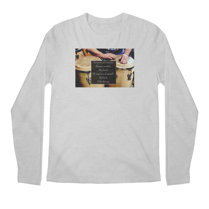 Congavitis Men's Regular Longsleeve T-Shirt by EdHartmanMusic Swag Shop!