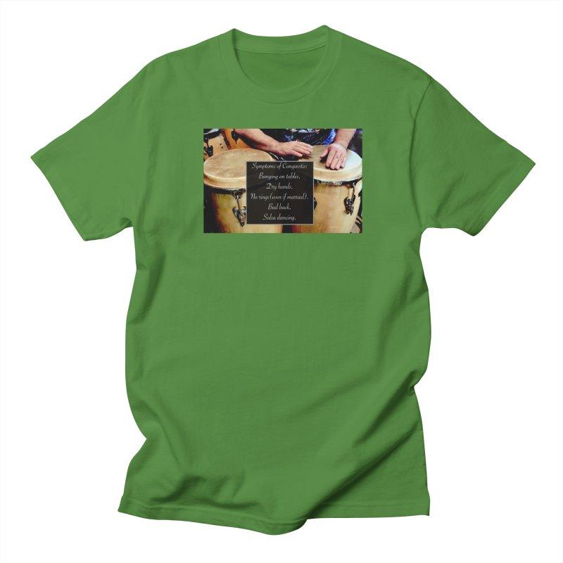 Congavitis Men's Regular T-Shirt by EdHartmanMusic Swag Shop!