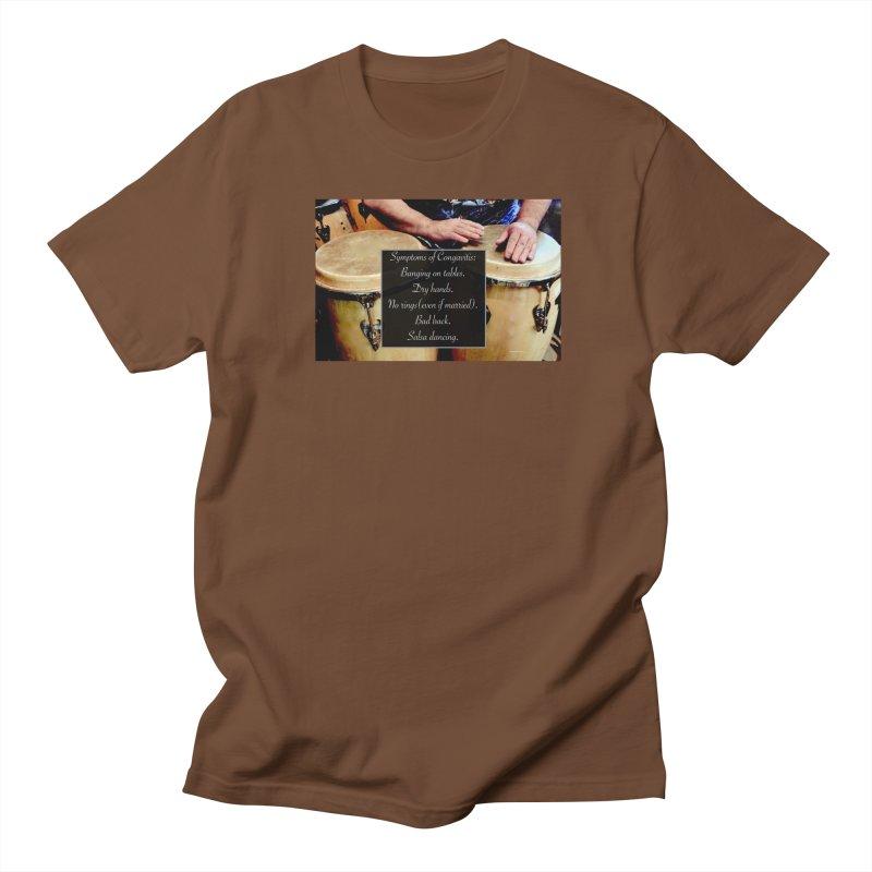 Congavitis Women's Regular Unisex T-Shirt by EdHartmanMusic Swag Shop!