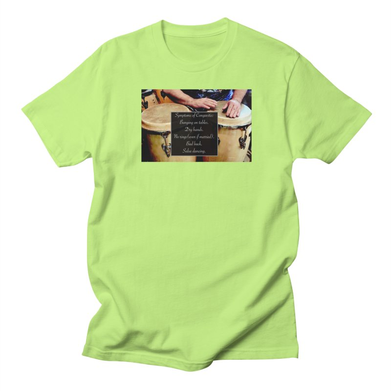 Congavitis Men's Regular T-Shirt by EdHartmanMusic Swag Shop!