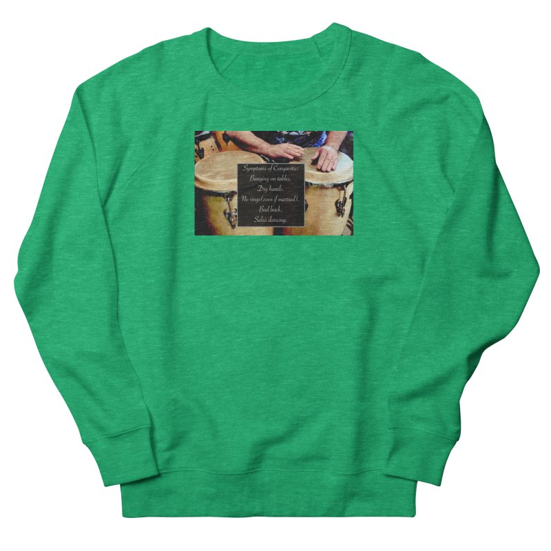 Congavitis Men's French Terry Sweatshirt by EdHartmanMusic Swag Shop!