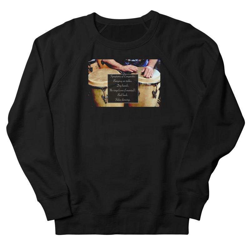 Congavitis Men's French Terry Sweatshirt by EdHartmanMusic Swag Shop!
