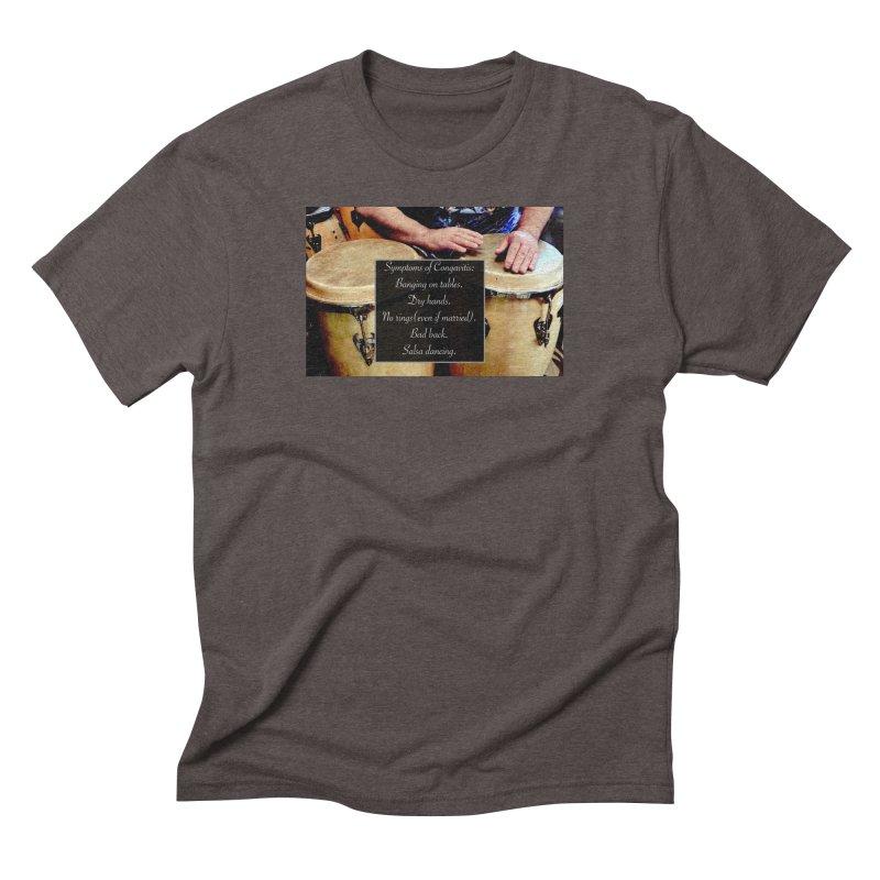 Congavitis Men's Triblend T-Shirt by EdHartmanMusic Swag Shop!