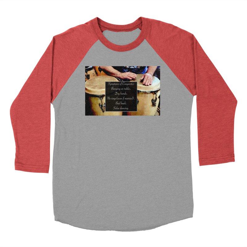 Congavitis Men's Longsleeve T-Shirt by EdHartmanMusic Swag Shop!