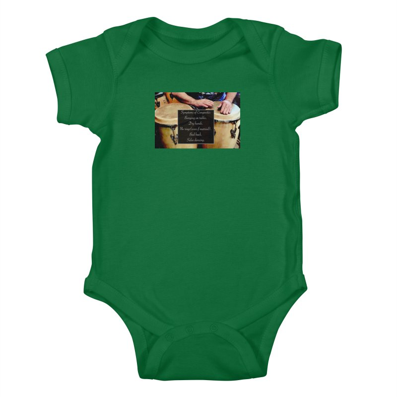 Congavitis Kids Baby Bodysuit by EdHartmanMusic Swag Shop!