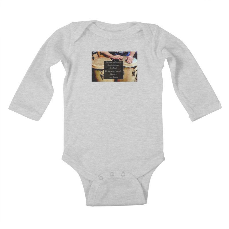 Congavitis Kids Baby Longsleeve Bodysuit by EdHartmanMusic Swag Shop!