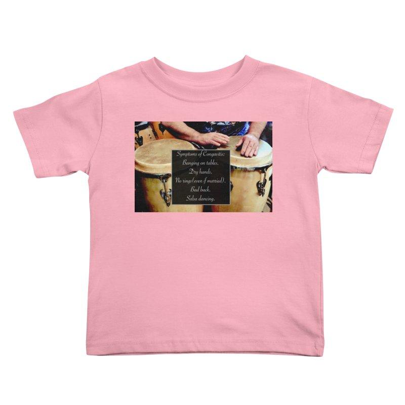 Congavitis Kids Toddler T-Shirt by EdHartmanMusic Swag Shop!