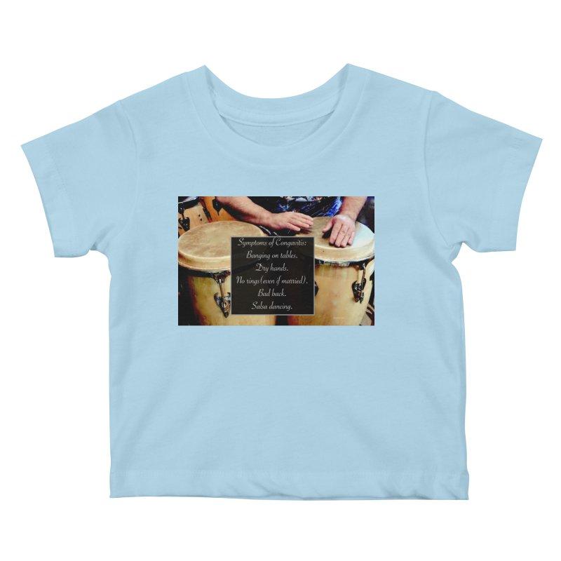 Congavitis Kids Baby T-Shirt by EdHartmanMusic Swag Shop!