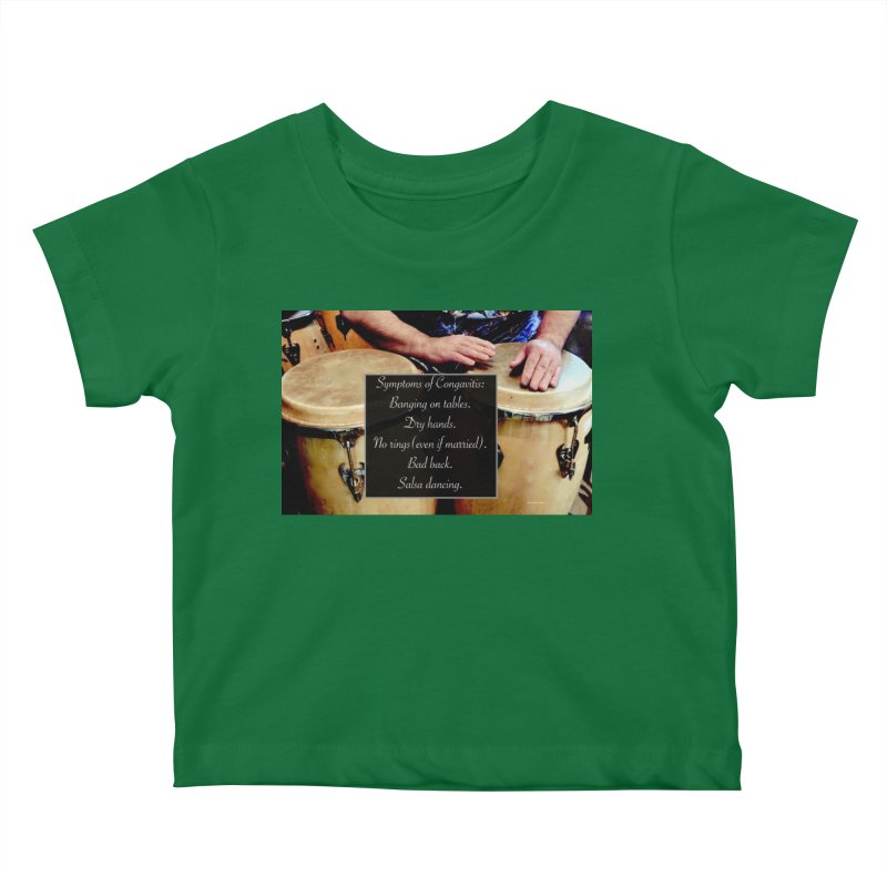 Congavitis Kids Baby T-Shirt by EdHartmanMusic Swag Shop!