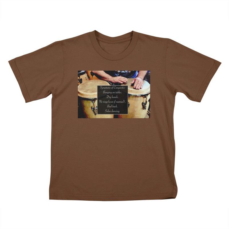 Congavitis Kids T-Shirt by EdHartmanMusic Swag Shop!