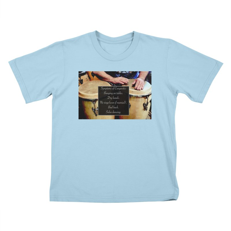 Congavitis Kids T-Shirt by EdHartmanMusic Swag Shop!