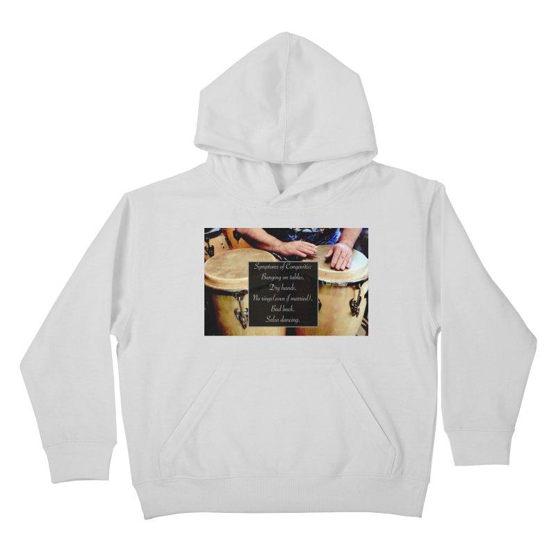Congavitis Kids Pullover Hoody by EdHartmanMusic Swag Shop!