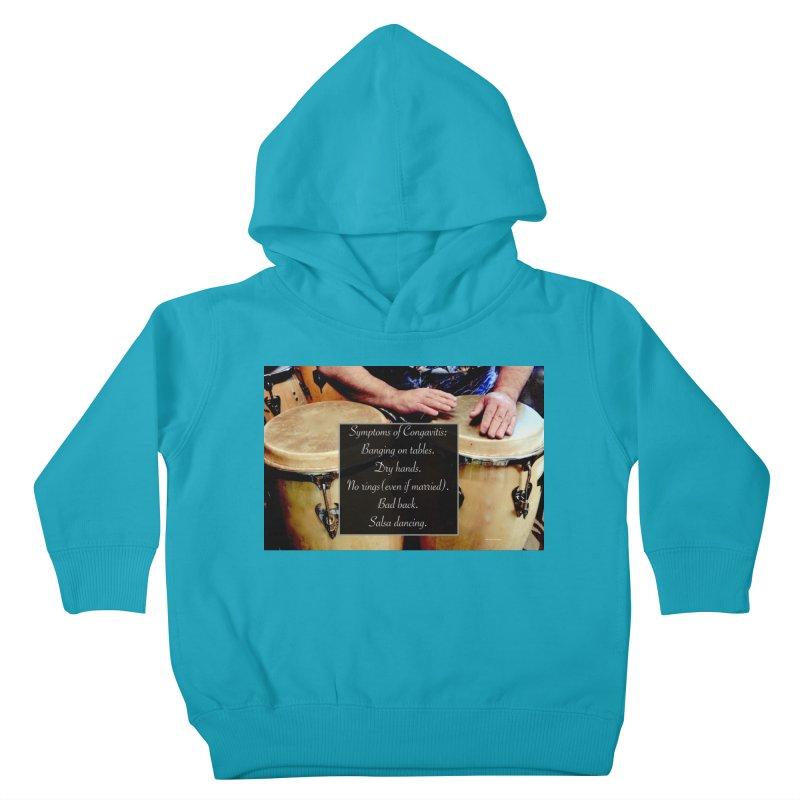 Congavitis Kids Toddler Pullover Hoody by EdHartmanMusic Swag Shop!