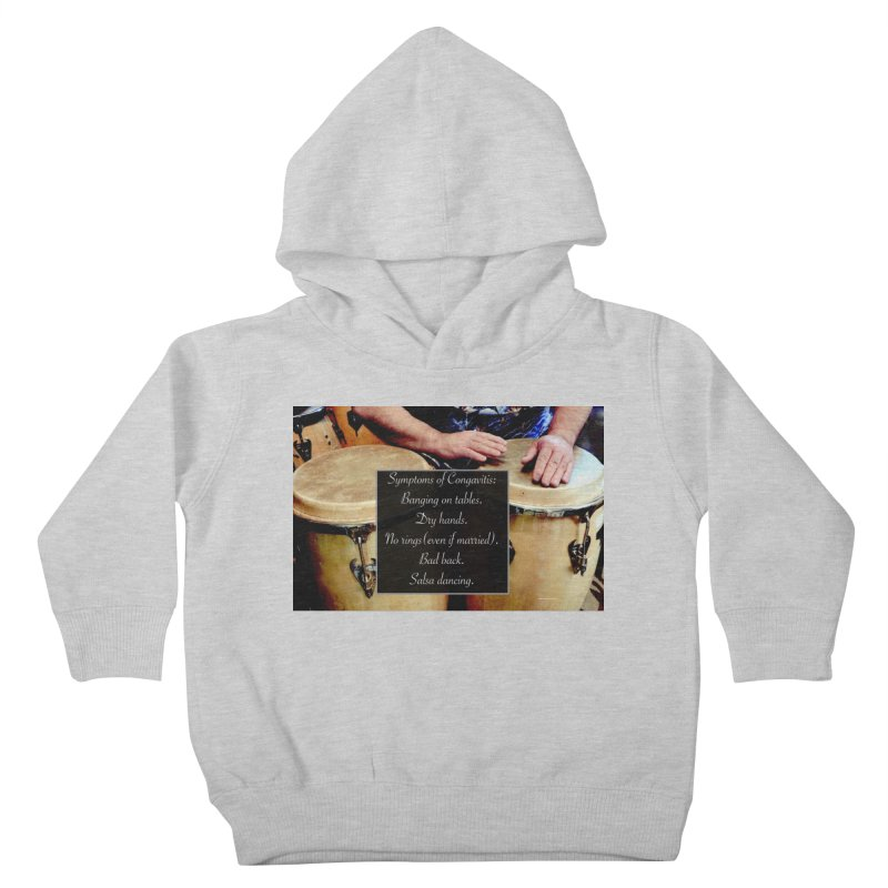 Congavitis Kids Toddler Pullover Hoody by EdHartmanMusic Swag Shop!