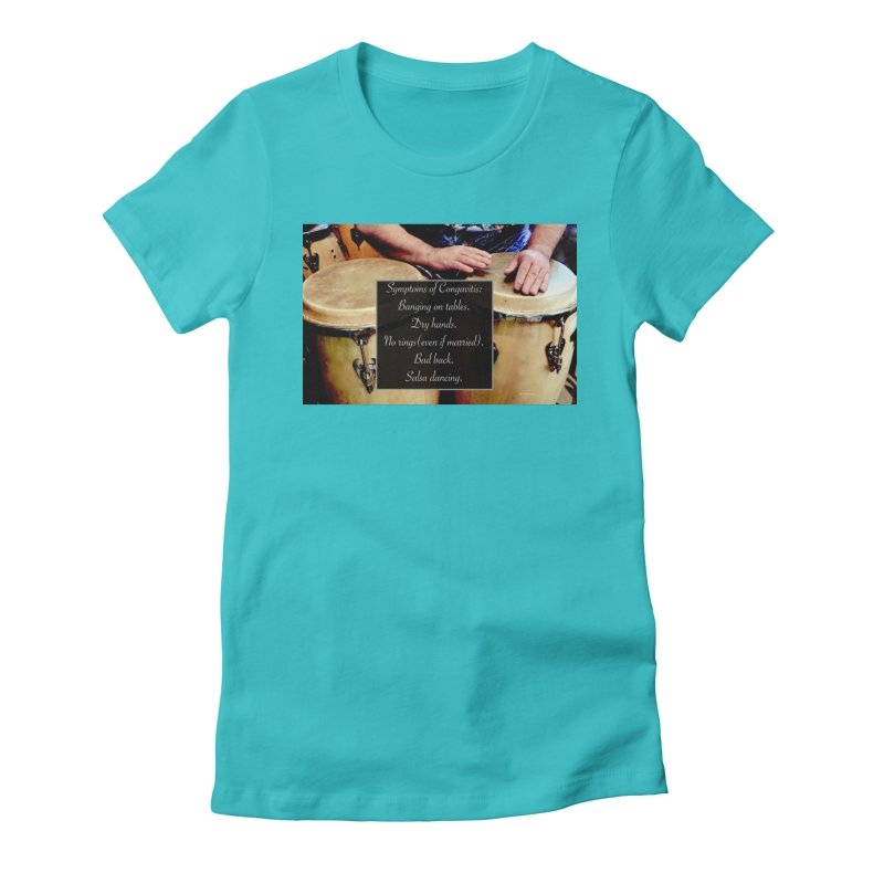 Congavitis Women's T-Shirt by EdHartmanMusic Swag Shop!