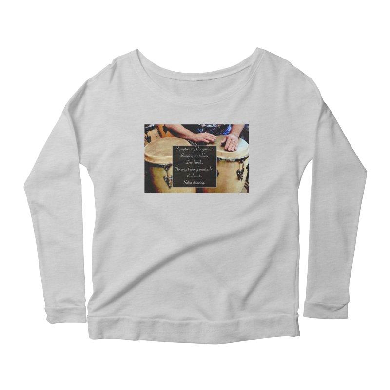 Congavitis Women's Scoop Neck Longsleeve T-Shirt by EdHartmanMusic Swag Shop!