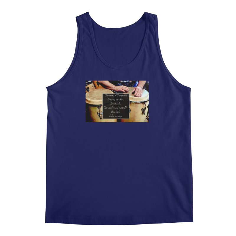 Congavitis Men's Regular Tank by EdHartmanMusic Swag Shop!