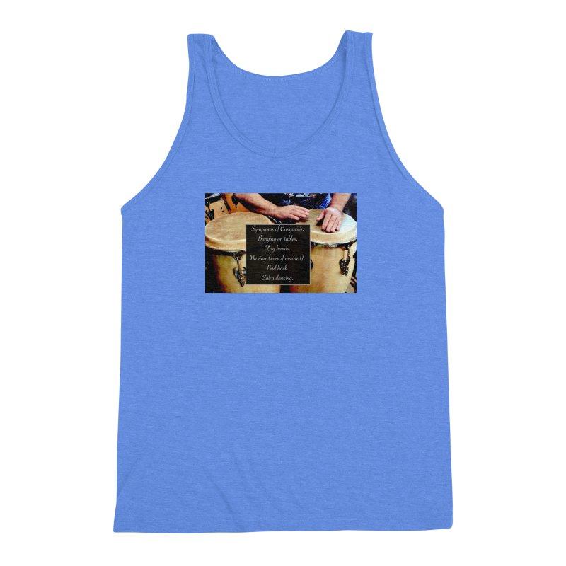 Congavitis Men's Triblend Tank by EdHartmanMusic Swag Shop!