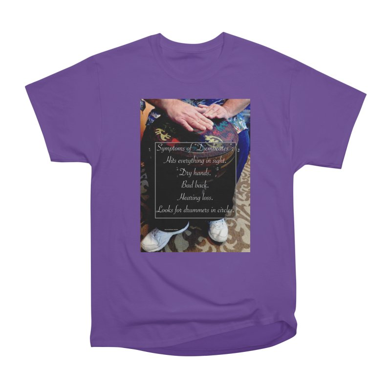 Djembeates Women's T-Shirt by EdHartmanMusic Swag Shop!