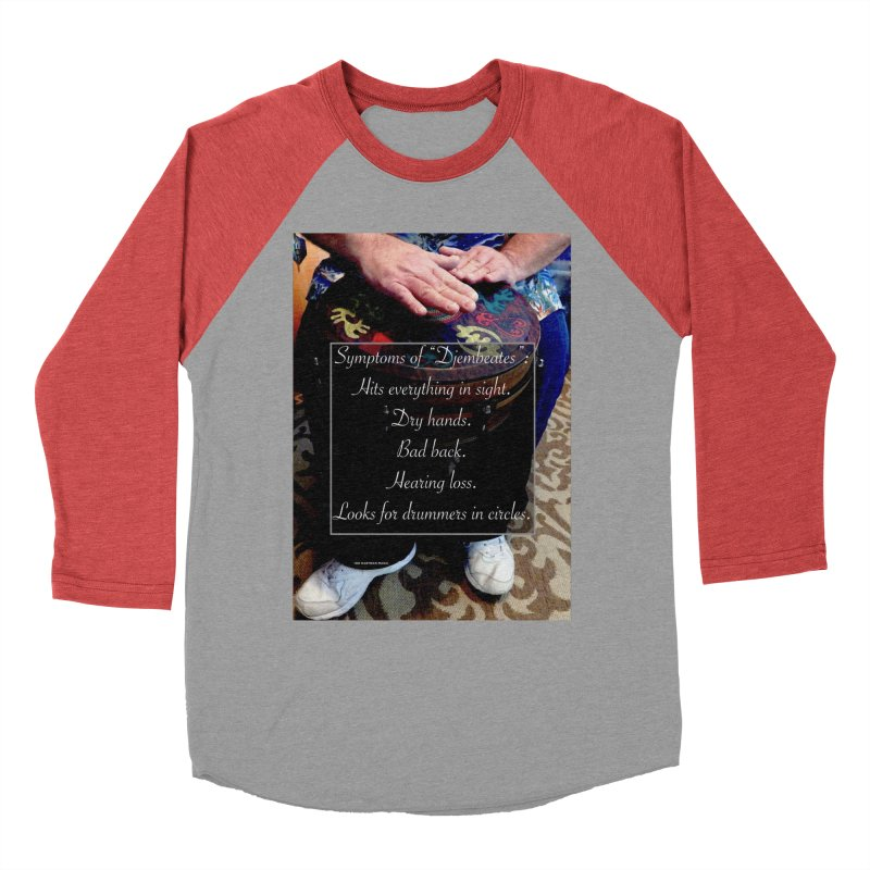 Djembeates Women's Longsleeve T-Shirt by EdHartmanMusic Swag Shop!