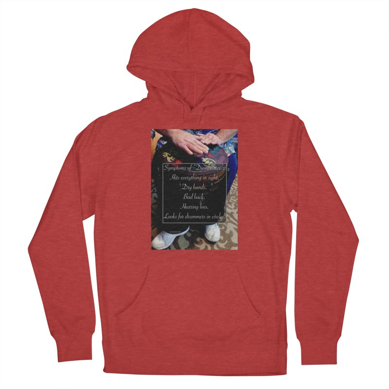 Djembeates Women's French Terry Pullover Hoody by EdHartmanMusic Swag Shop!