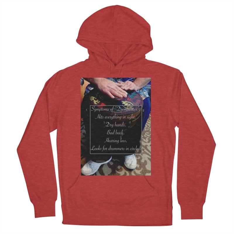 Djembeates Women's Pullover Hoody by EdHartmanMusic Swag Shop!