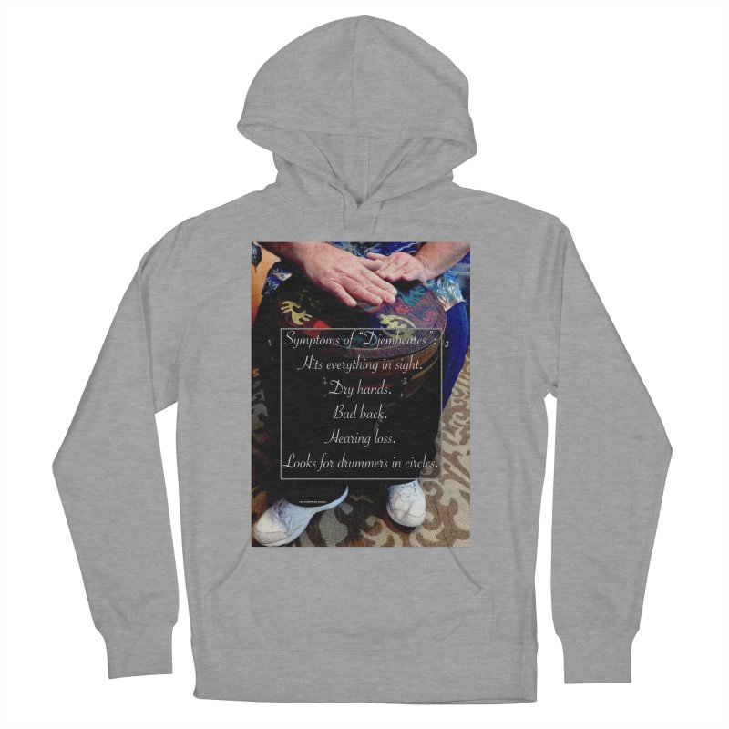 Djembeates Men's French Terry Pullover Hoody by EdHartmanMusic Swag Shop!