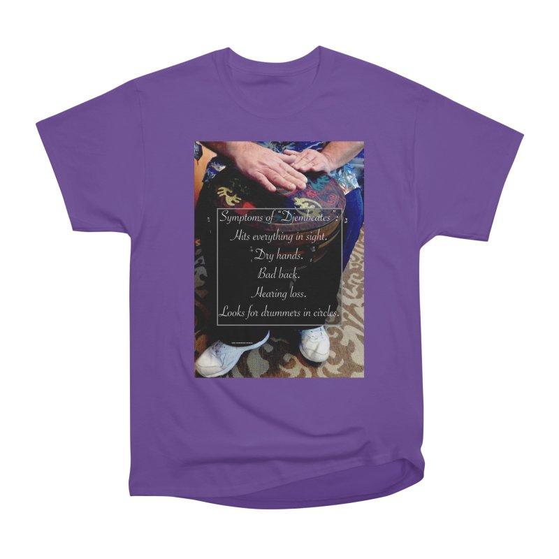 Djembeates Women's Heavyweight Unisex T-Shirt by EdHartmanMusic Swag Shop!