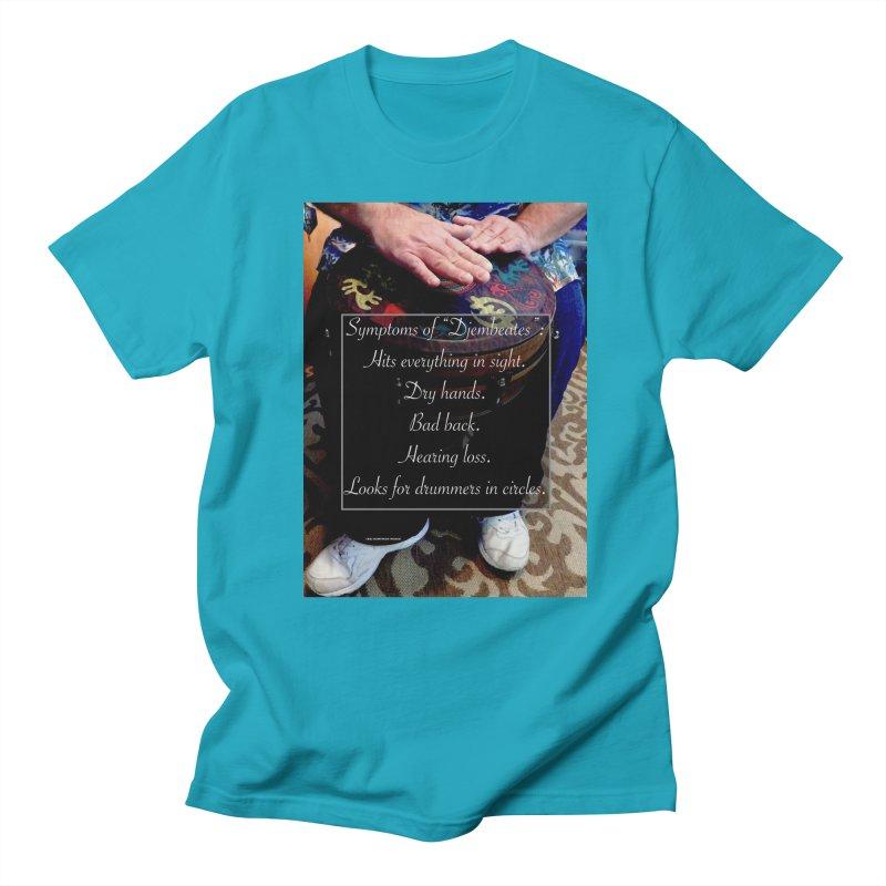 Djembeates Women's Regular Unisex T-Shirt by EdHartmanMusic Swag Shop!
