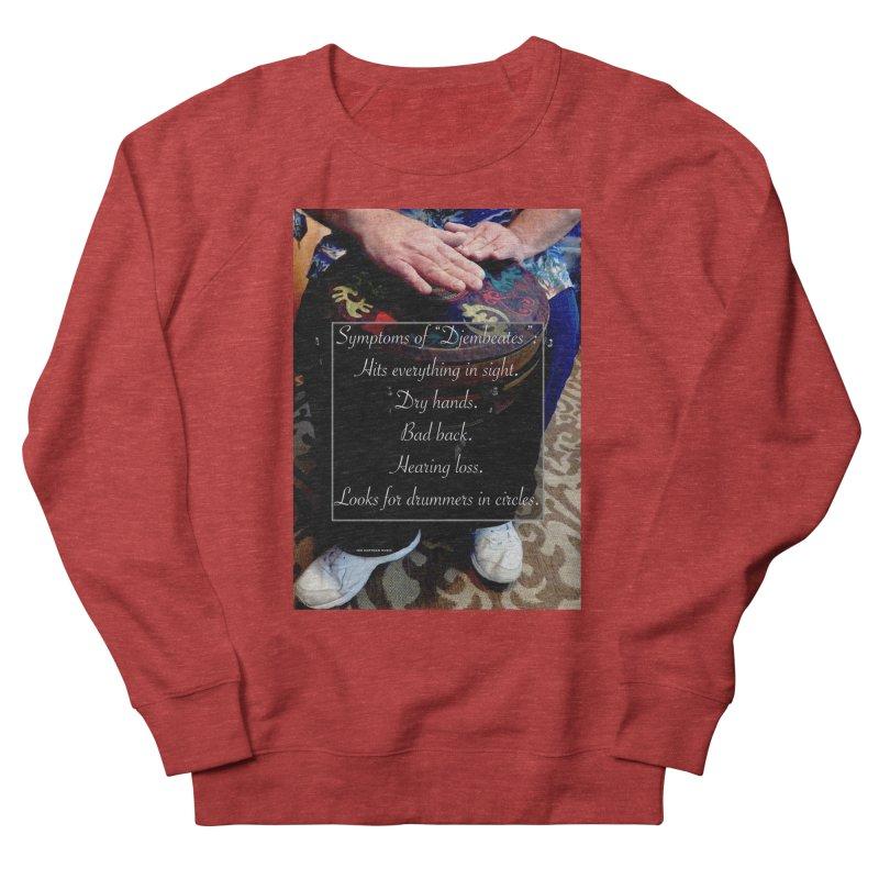 Djembeates Women's French Terry Sweatshirt by EdHartmanMusic Swag Shop!