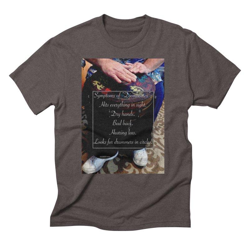Djembeates Men's Triblend T-Shirt by EdHartmanMusic Swag Shop!