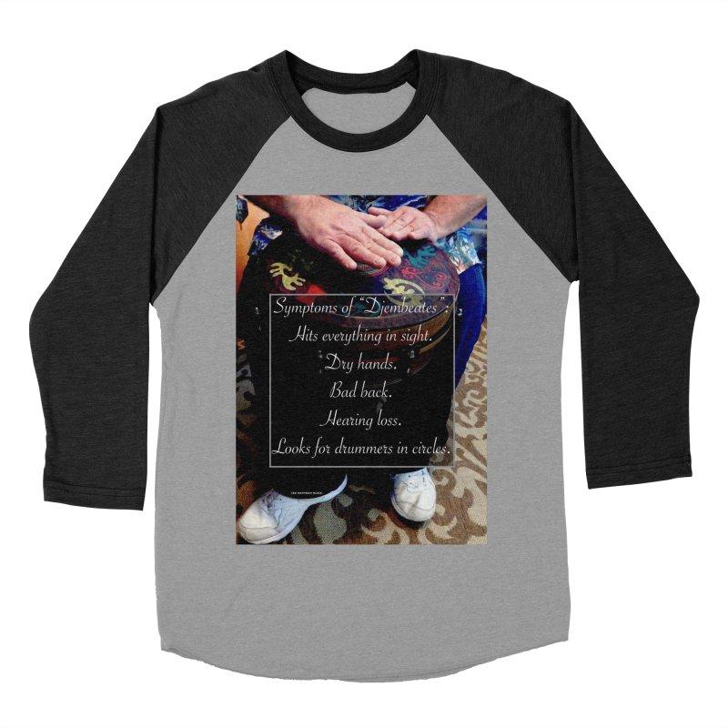 Djembeates Men's Baseball Triblend T-Shirt by EdHartmanMusic Swag Shop!