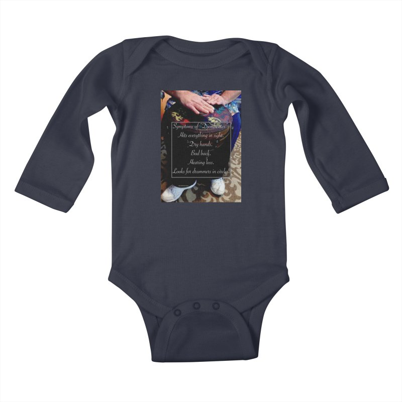 Djembeates Kids Baby Longsleeve Bodysuit by EdHartmanMusic Swag Shop!