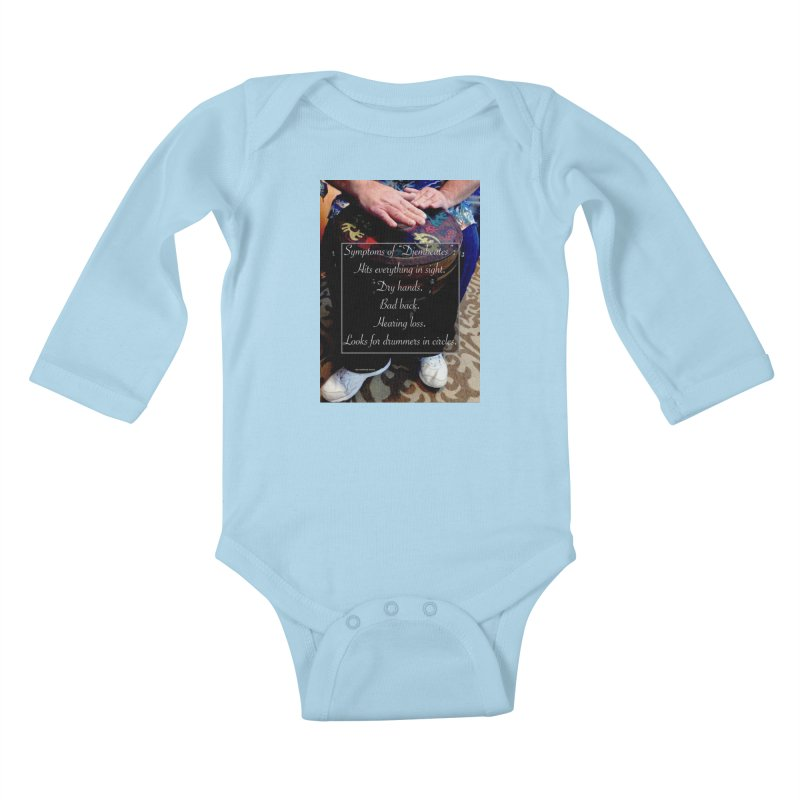 Djembeates Kids Baby Longsleeve Bodysuit by EdHartmanMusic Swag Shop!