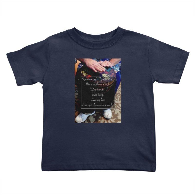 Djembeates Kids Toddler T-Shirt by EdHartmanMusic Swag Shop!