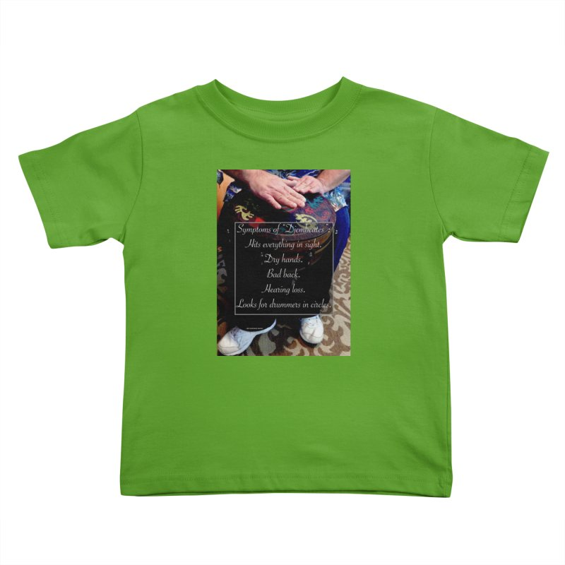 Djembeates Kids Toddler T-Shirt by EdHartmanMusic Swag Shop!