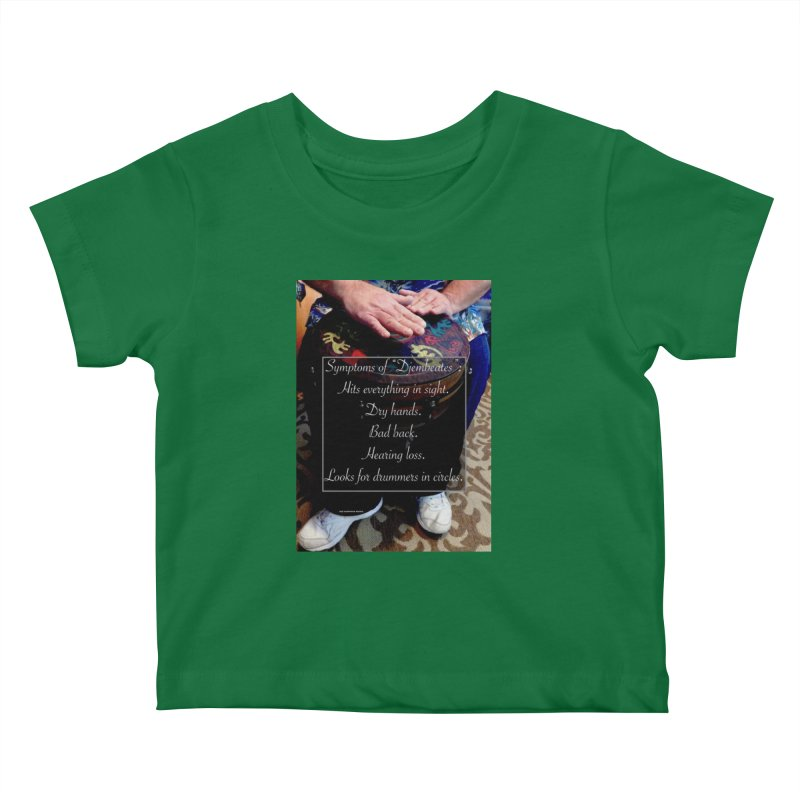 Djembeates Kids Baby T-Shirt by EdHartmanMusic Swag Shop!