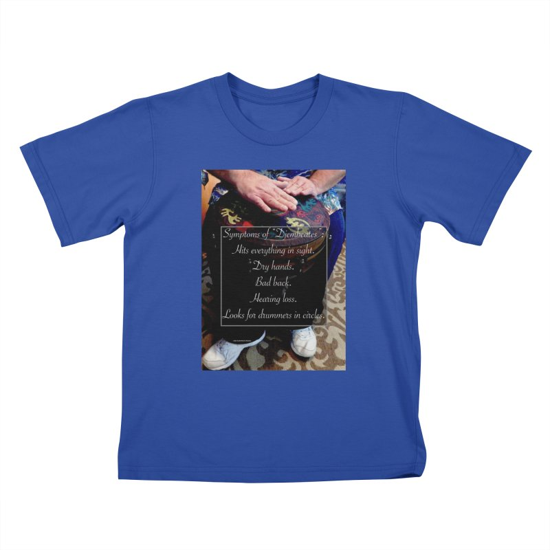 Djembeates Kids T-Shirt by EdHartmanMusic Swag Shop!
