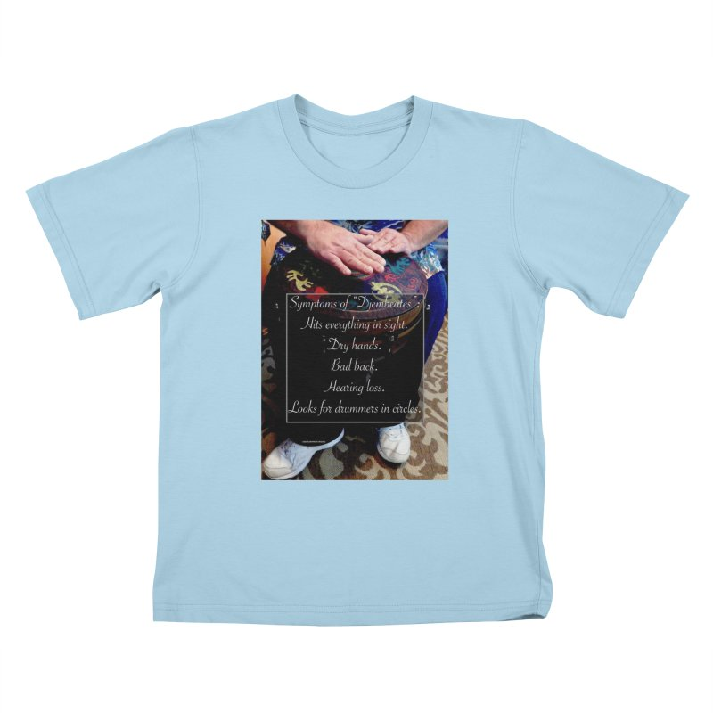 Djembeates Kids T-Shirt by EdHartmanMusic Swag Shop!
