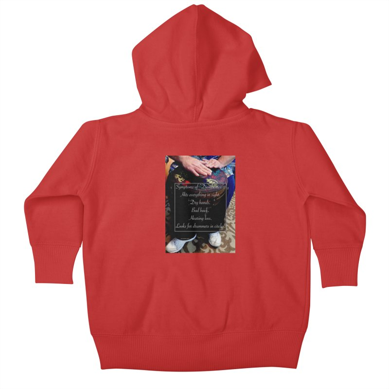 Djembeates Kids Baby Zip-Up Hoody by EdHartmanMusic Swag Shop!