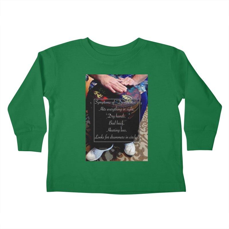 Djembeates Kids Toddler Longsleeve T-Shirt by EdHartmanMusic Swag Shop!