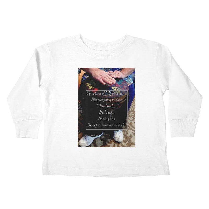 Djembeates Kids Toddler Longsleeve T-Shirt by EdHartmanMusic Swag Shop!