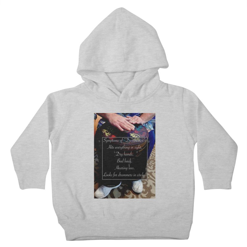 Djembeates Kids Toddler Pullover Hoody by EdHartmanMusic Swag Shop!