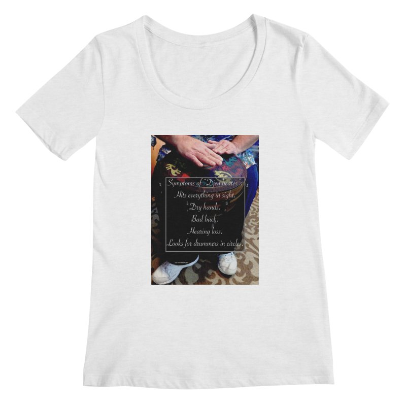 Djembeates Women's Scoop Neck by EdHartmanMusic Swag Shop!