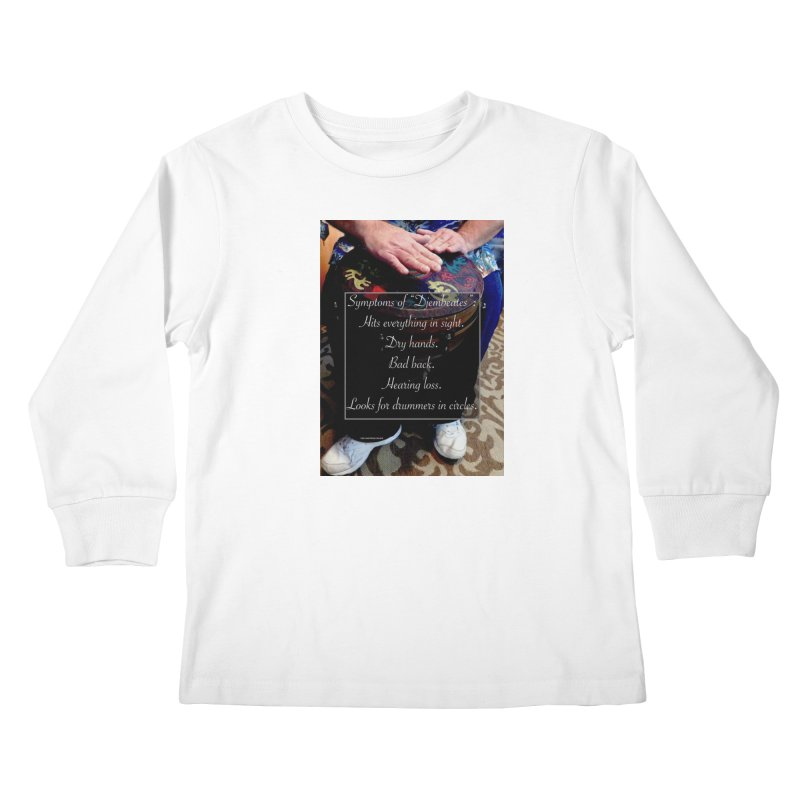 Djembeates Kids Longsleeve T-Shirt by EdHartmanMusic Swag Shop!