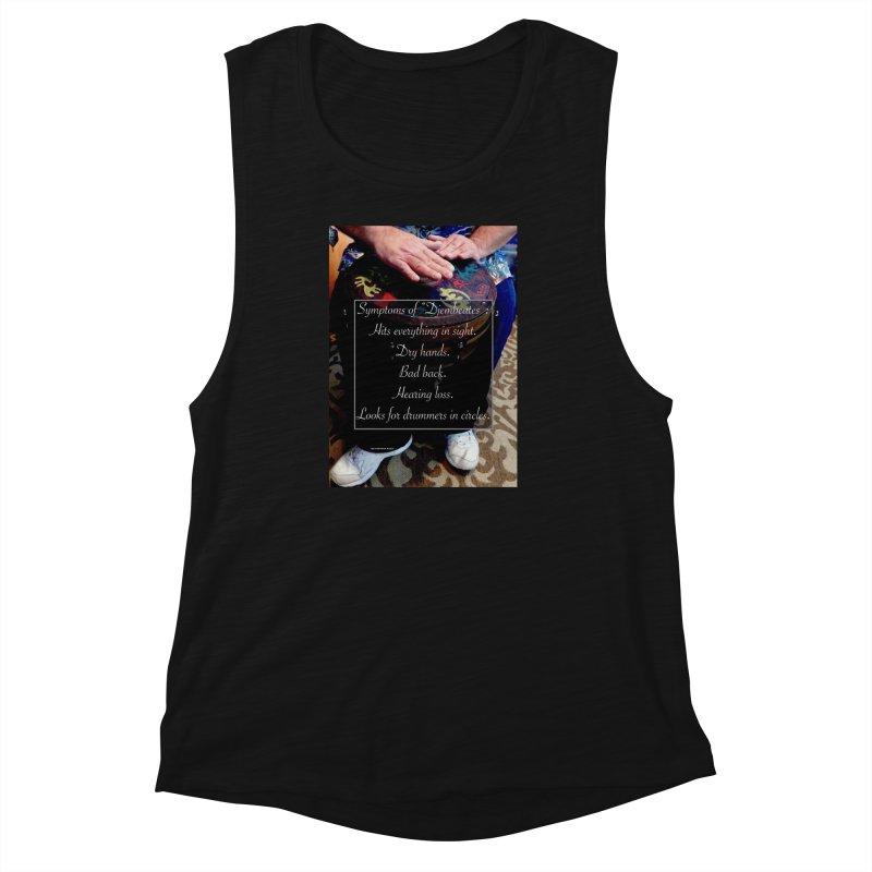 Djembeates Women's Muscle Tank by EdHartmanMusic Swag Shop!